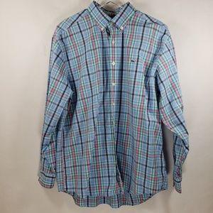 Vineyard Vines | Button Down Whale Shirt Sz L